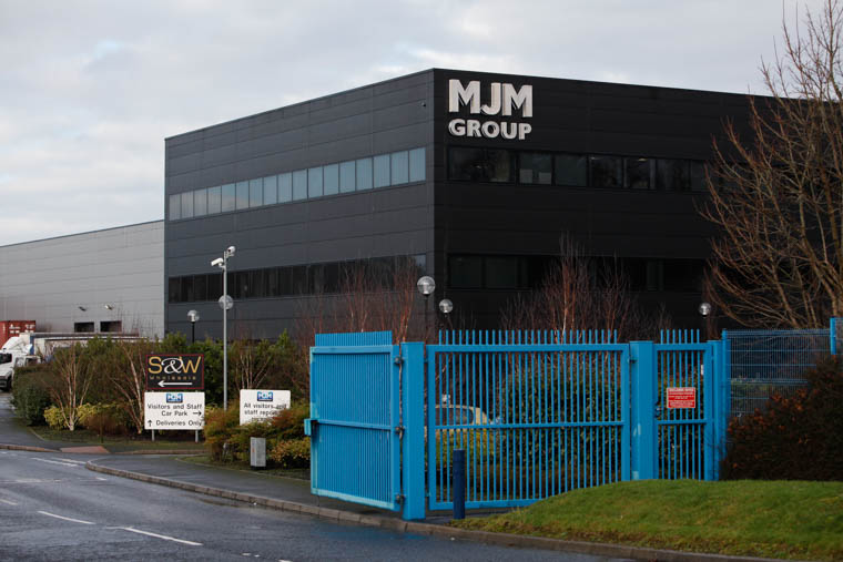 MJM premises at Carnbane Business Park will host local businesses in December at a NI Chamber export event.
