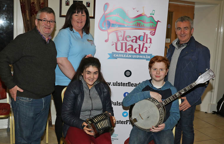 Members of Newcastle Comhaltas are starting their preparations for the Ulster Fleadh in Castlewellan.