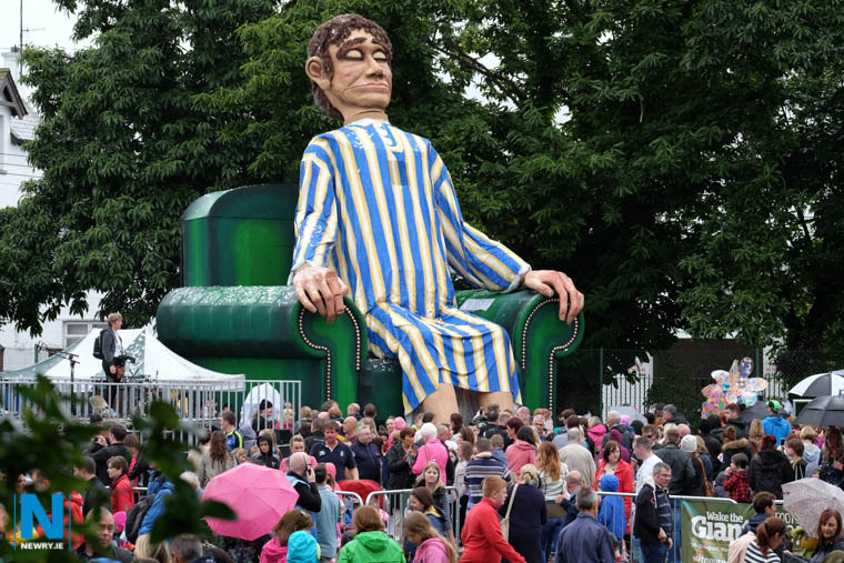 Wake the Giant, one of the annual council run festivals . Photograph: Columba O'Hare/ www.newry.ie
