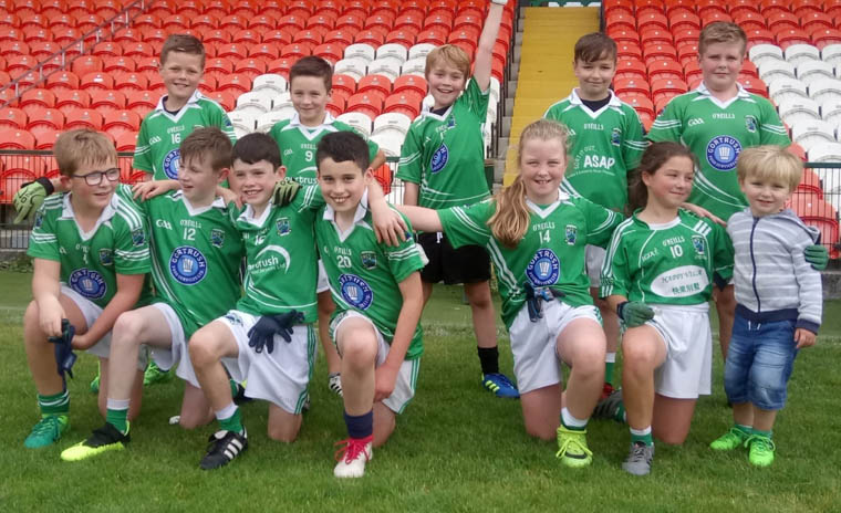 Shane O'Neill's U10's at the County blitz in the Athletic Grounds on Saturday