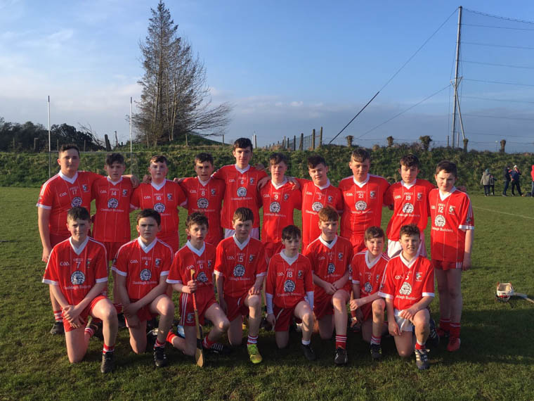 Craobh Rua u14 team which narrowly lost out to Killeavy in the Armagh Féile Shield Final