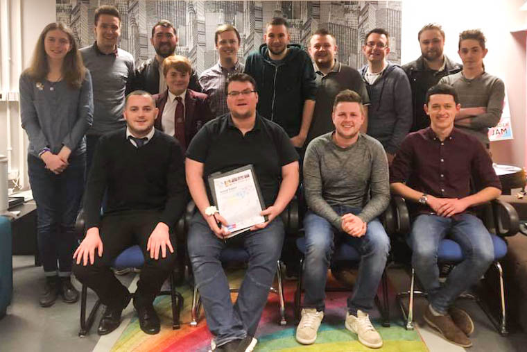 The Newry Rainbow Community Committee for 2018.