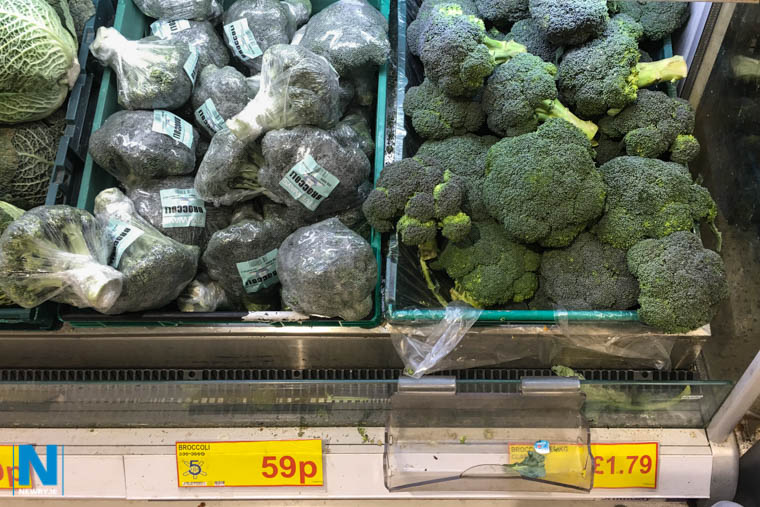 Spot the difference! One costs £1.18 a kg and one costs £1.79 a kg. Photograph: Columba O'Hare/ Newry.ie