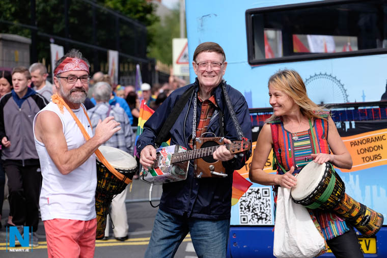 The ever popular Pride in Newry got increased funding from Council in 2017. Photograph: Columba O'Hare/ Newry.ie