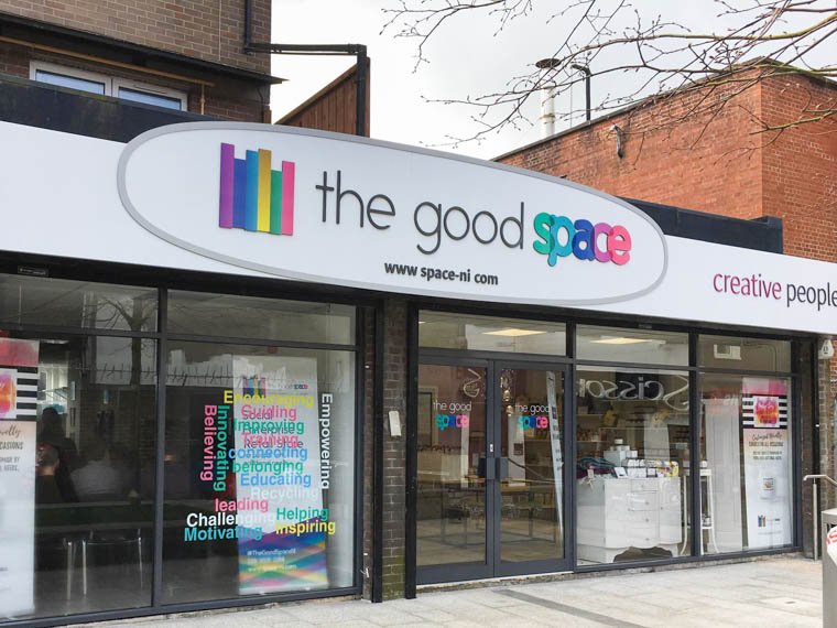 The Good Space at Marcus Street in Newry is opening a retail store later this month.