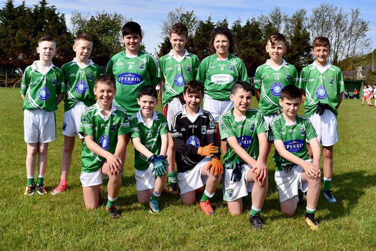 Shane O'Neill's U12s at the An Riocht tournament on Saturday