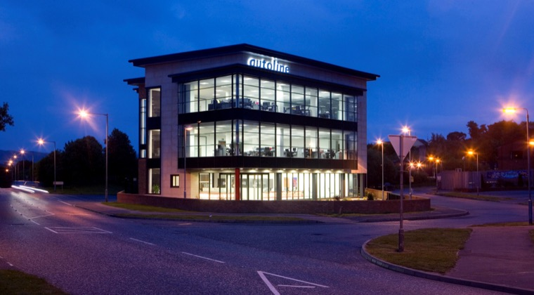 The Autoline premises in Newry.