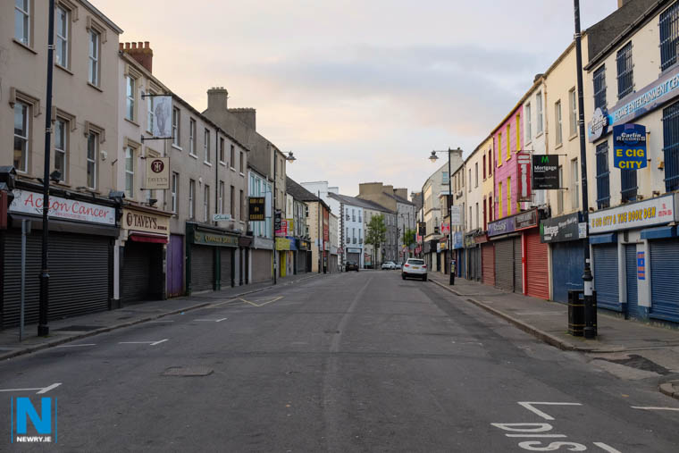 'Living above the shop' is one suggestion to help with the housing crisis in Newry. Photograph: Columba O'Hare/ Newry.ie