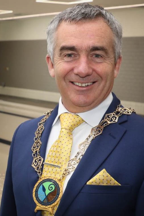 Cllr Mark Murnin, Chairman, Newry, Mourne and Down Council.