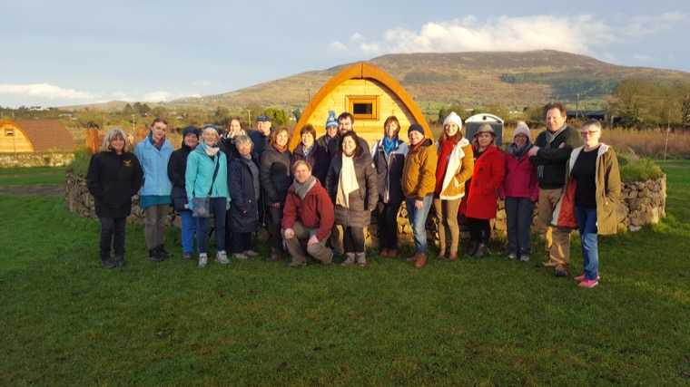 Trainee 'Blue Badge' Tour Guides attend Familiarisation Trip of the Ring of Gullion
