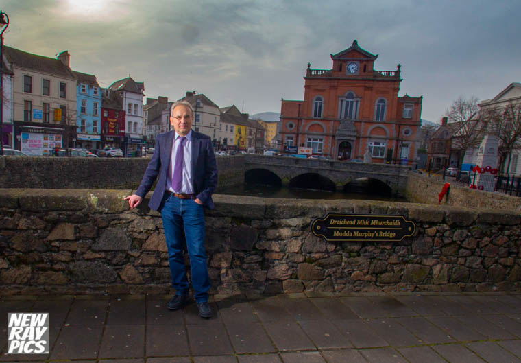Artur Kmiecik, Ethnic Minority Support Officer with Newry, Mourne and Down District Council. Photograph: NewRayPics.com