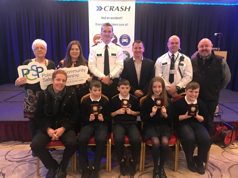 Cloughogue PS came third in the local heat of the NI Primary School Road Safety Quiz.