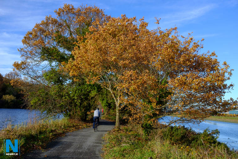 The present greenway stretches from the Albert Basin to Carlingford Lough. Photograph: Columba O'Hare/ Newry.ie