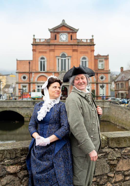America's founding father Benjamin Franklin, who stayed at the Castle during the 1770s and late 19th Century resident and musician Lady Annie Hill travelled across Northern Ireland to explore the town of Newry.