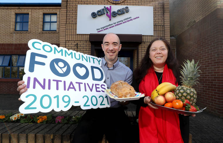 Newry Early Years Children & Family Centre is one of five Northern Ireland community projects to be awarded a share of over £500k worth of funding made available over the next three years by safefood as part of its Community Food Initiatives (CFI) Programme 2019-21 aimed at improving health through food in low-income communities.