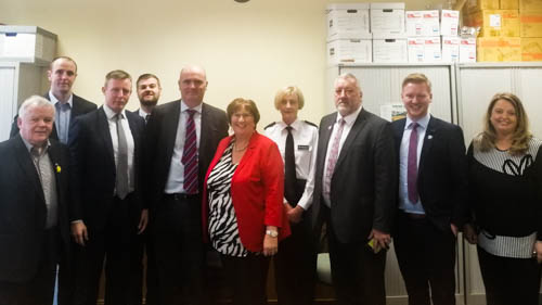 SDLP members met with policing chiefs this week.
