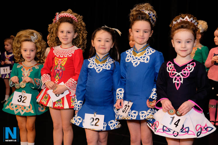 Proudly displaying their Newry Feis medals. Photograph: Columba O'Hare/ Newry.ie