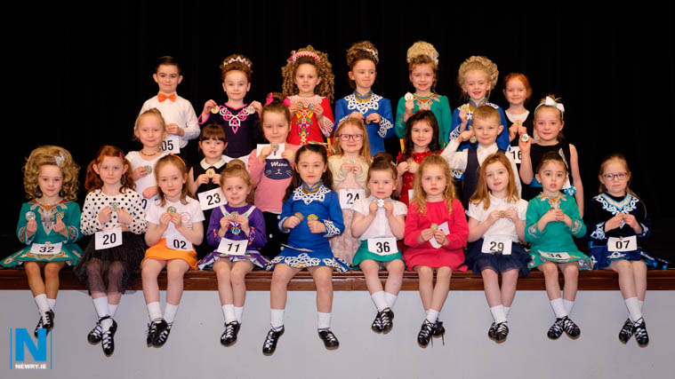 Medal winners on the opening day of Newry Musical Feis. Photograph: Columba O'Hare/ Newry.ie
