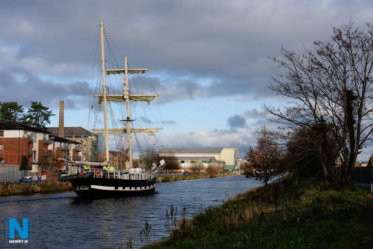 For tall ships to continue to be able to visit Newry, an opening bridge needs to be part of the Newry Southern Relief Road project. Photograph: Columba O'Hare/ Newry.ie