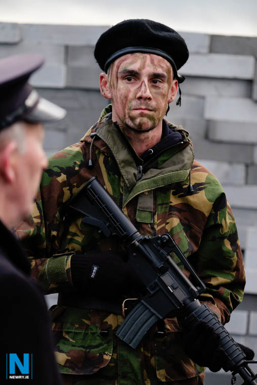 A British Soldier. Photograph: Columba O'Hare/ Newry.ie