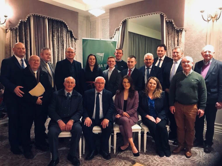 Guests at the meeting included IFA Director General Damian McDonald, Fianna Fáil TDs  Charlie McConalogue, Brendan Smith and Declan Breathnach.