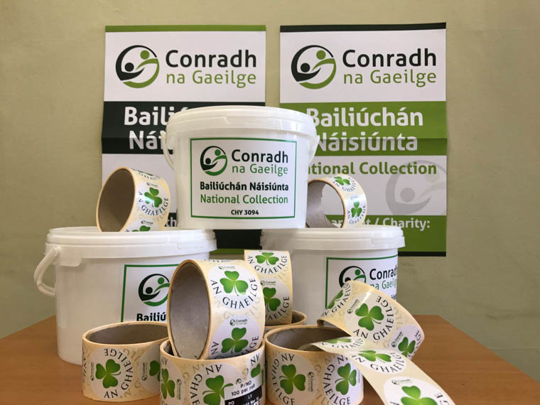 The annual Irish Language Collection will take place in Newry on St Patricks weekend.