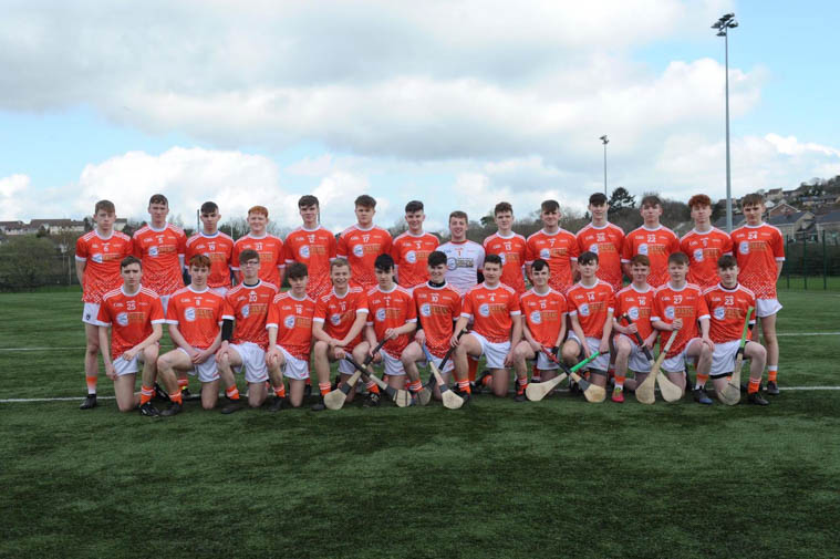 Armagh U17 Hurling Team which include Craobh Rua hurlers Oisin O Hare, Daithí McCloy,Darragh Cunningham, Patrick McVerry & Niall Elshaw  In their Celtic league campaign so far, the Armagh side have defeated Fermanagh and fallen to a narrow defeat to Down