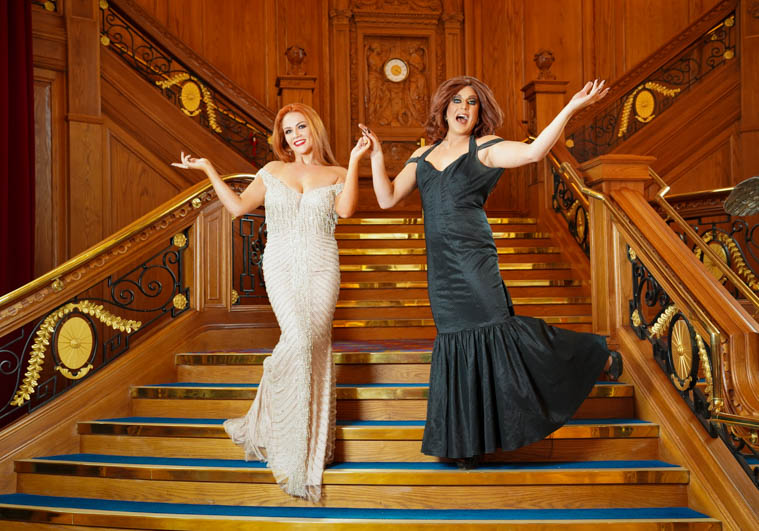 Grainne McCoy and Lady Portia launch the NI Makeup and Beauty Awards 2019. Photograph: Aaron McCracken