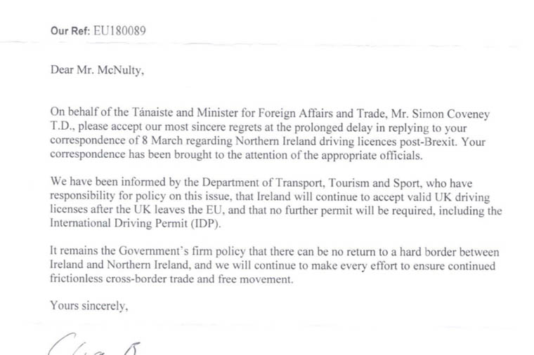 international driving permit northern ireland