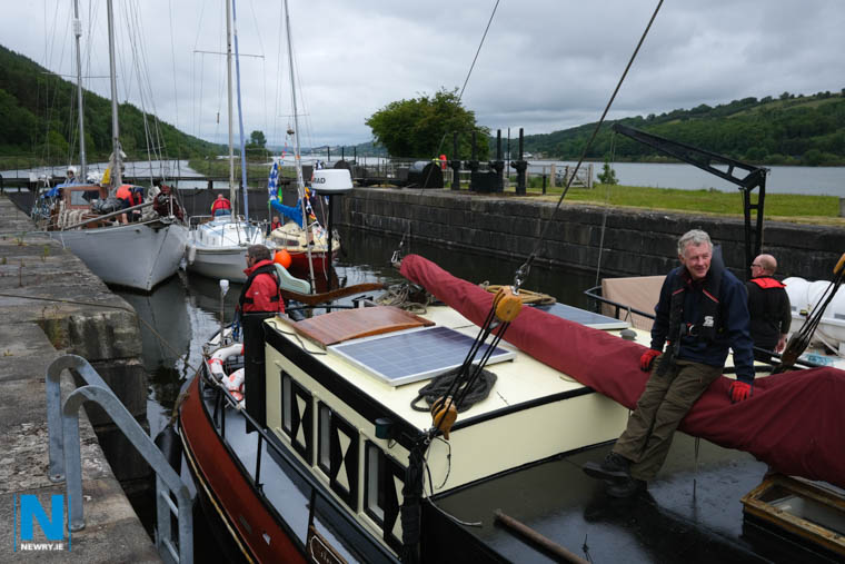 A fixed bridge at Narrow Water or on Newry Ship Canal would make Victoria Lock virtually redundant, save for a few small craft. Photograph: Columba O'Hare/ Newry.ie