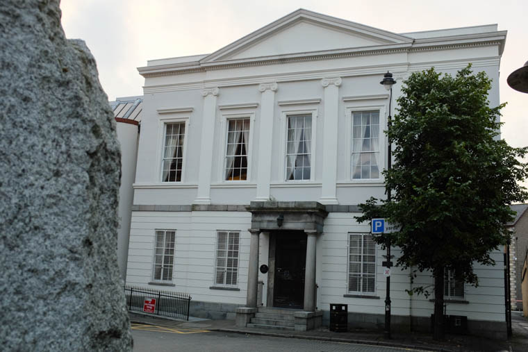 Councillors have approved a proposal to demolish the Sean Hollywood Arts Centre as part of a new Theatre and Conference facility in Newry. Photograph: Columba O'Hare/ Newry.ie