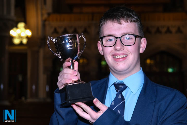 St Colman's College pupil, Harry McMahon from Burren, the inaugural winner of the Alma Brown Cup in the Junior Organ Solo (Open)  competition at Newry Feis. Photograph: Columba O'Hare/ Newry.ie