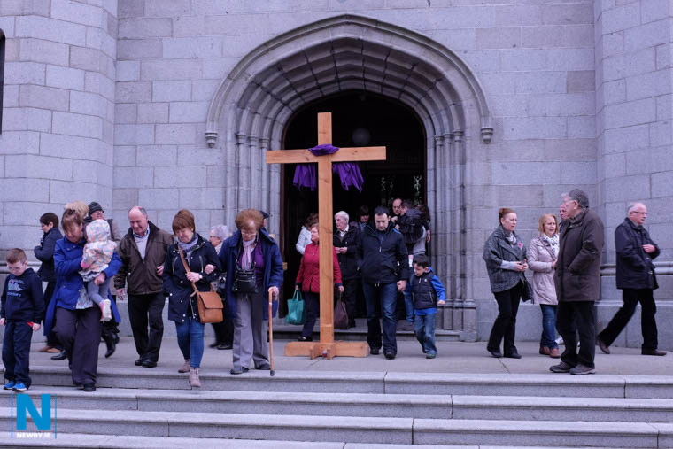 Stations of the Cross, Good Friday, Newry Cathedral