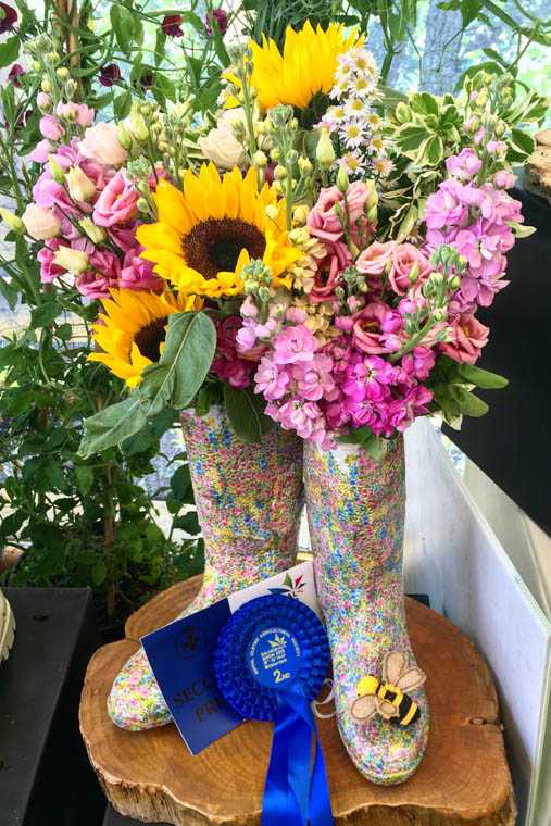 Enter the Fill Your Boots competition at Balmoral Show.