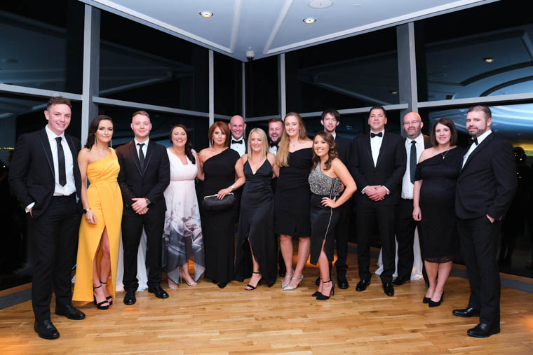 The team from Killeavy Castle Estate at the NI Hotel Awards 2019 at Titanic Belfast Photograph: David Cordner