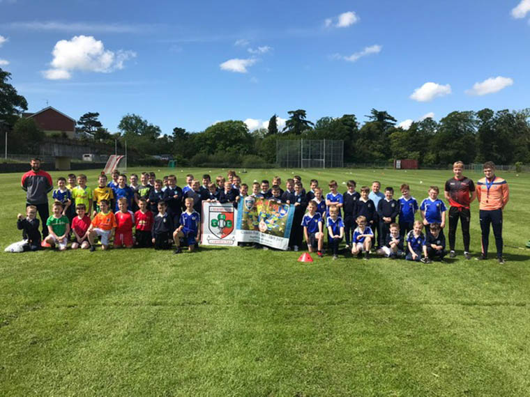 Young Hurlers & Coaches at the Recent Primary 5 School Blitz