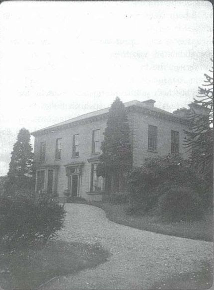 The house photographed by Sir William Irvine during a visit in 1904.