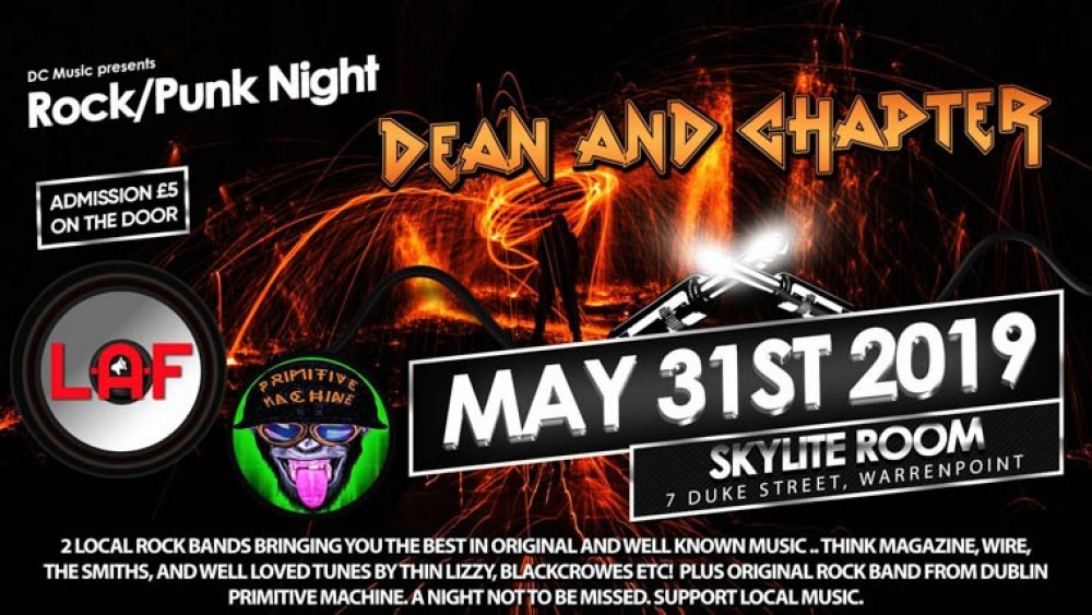 Newry ie - Dean and Chapter - Rock/ Punk Night