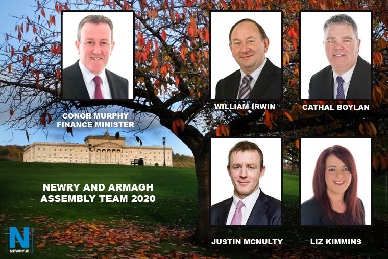 The Newry and Armagh MLA's returning to Stormont.