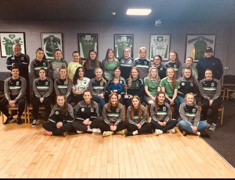 Shane O'Neill's Senior Ladies – Division 2 League Champions 2019