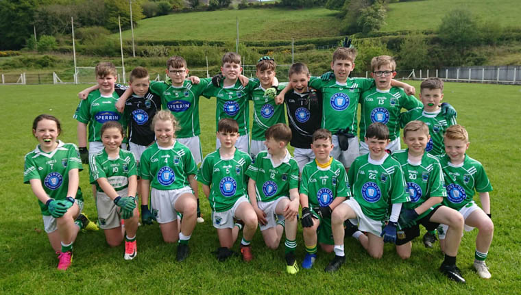 Shane O'Neill's U12s who played Keady on Saturday