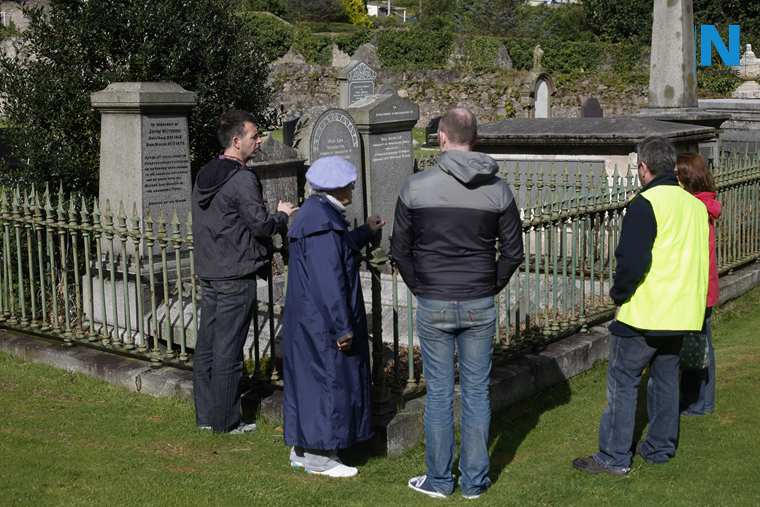 John Mitchel's grave in Newry.  Photograph: Columba O'Hare/ Newry.ie