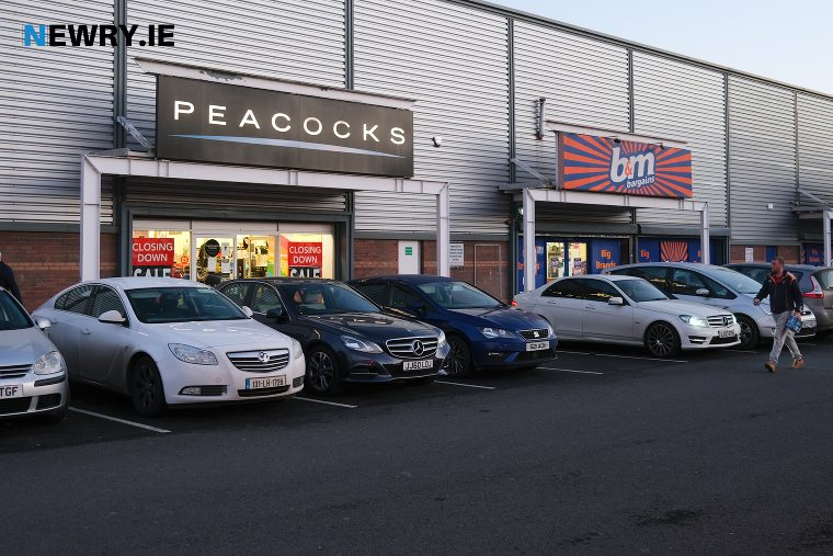 The Peacocks store in Newry. Photograph: Columba O'Hare/ Newry.ie