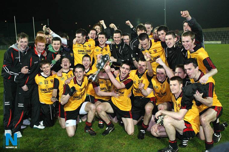 The victorious Down Under 21 Team who beat Armagh in the Ulster Final at Casement Park in 2009. Photograph: Columba O'Hare/ Newry.ie