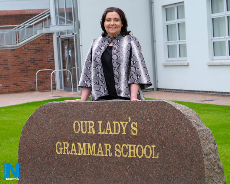 Fiona is Principal of Our Lady's Grammar School, Newry. Photograph: Columba O'Hare/ Newry.ie