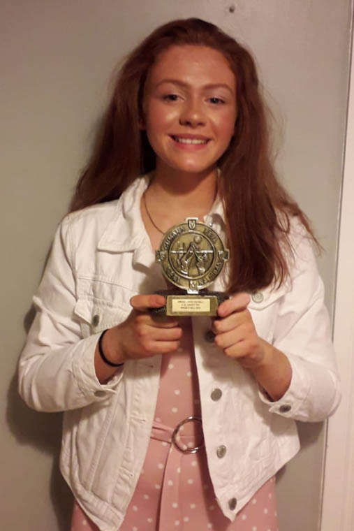 Sinead O'Neill (Shane O'Neill's) – U13 County Player of the Year