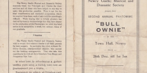 Bull Ownie by Newry Gaelic Musical and Dramatic Society