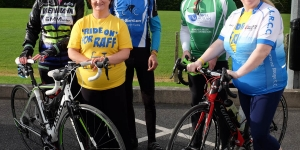 Ride on for Raff Charity Cycle, Lissummon