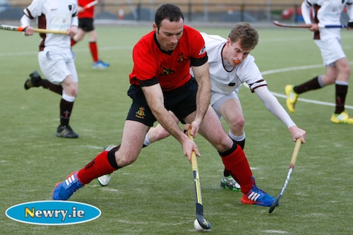 Newry Olympic Hockey Club in action.