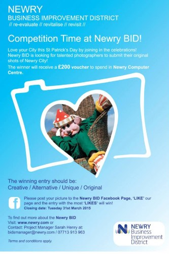 Newry BID Photography Competition.